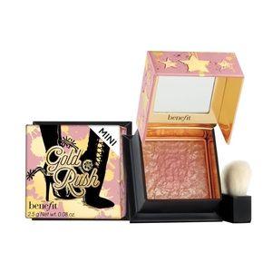 NWOT benefit gold rush blush